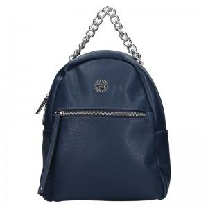 Dámský batoh Marina Galanti Frida – modrá