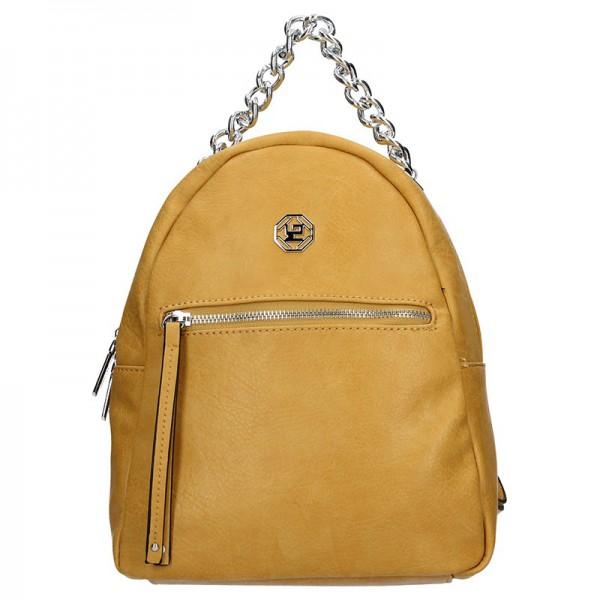 Dámský batoh Marina Galanti Frida – žlutá