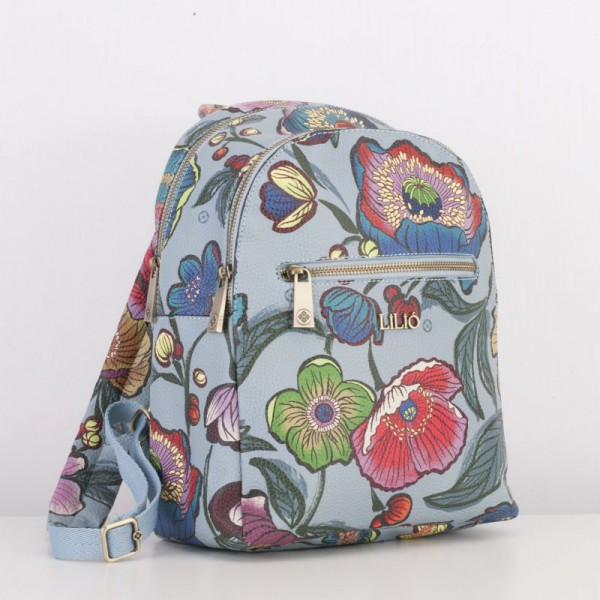 LiLiÓ Urban Peony Backpack casual dámský batoh 7 l Electric Blue