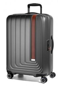 March Skořepinový cestovní kufr Beau Monde 101 l – antracitová