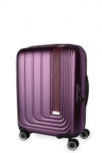 March Kabinový cestovní kufr Beau Monde 41 l – fialová