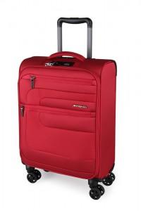 March Kabinový cestovní kufr Classic 37 l – červená