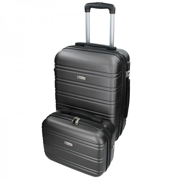 Sada dvou cestovních kufrů Airtex Worldline 531/2 – šedá