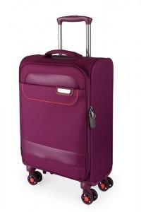March Kabinový cestovní kufr Tourer 34,5 l – fialová