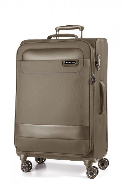 March Textilní cestovní kufr Tourer 70/83 l – kaschmir – khaki