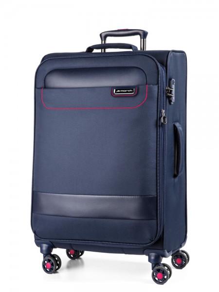 March Textilní cestovní kufr Tourer 104 l – tmavě modrá