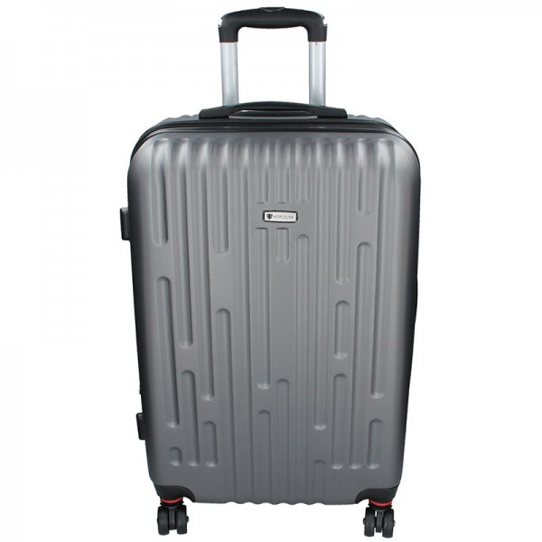 Cestovní kufr Airtex Worldline Kuga L – šedá