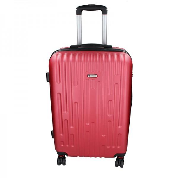 Cestovní kufr Airtex Worldline Kuga L – tmavě červená