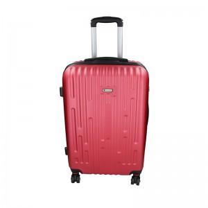 Cestovní kufr Airtex Worldline Kuga M – tmavě červená