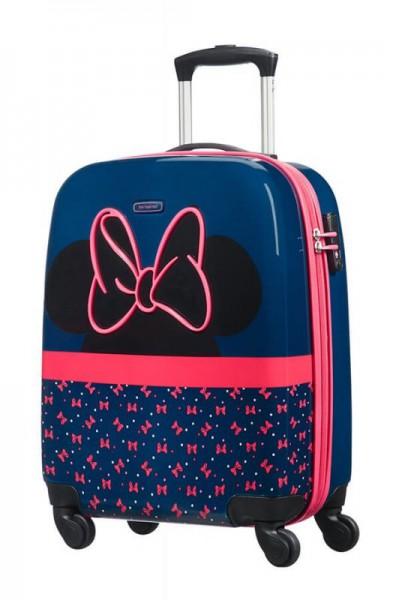 Samsonite Disney Ultimate 2.0 4w dětský cestovní kufr TSA 55 cm Minnie Neon