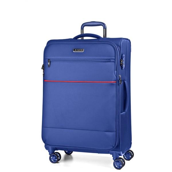 March Střední cestovní kufr Easy 69 l – světle modrá