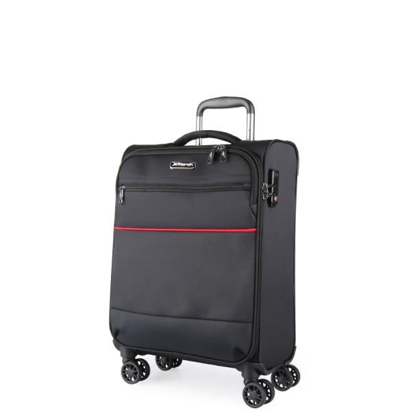 March Kabinový cestovní kufr Easy 37 l – černá