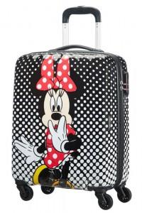 American Tourister Disney palubní kufr 55 cm Minnie Mouse Polka Dot