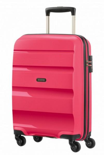 American Tourister Bon Air S Strict palubní kufr PP TSA 55 cm Azalea Pink
