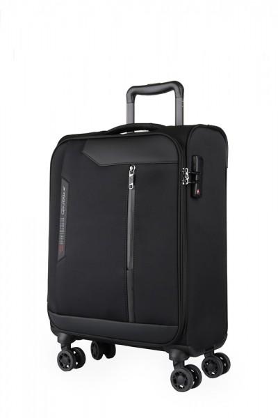 March Kabinový cestovní kufr Stardust 37 l – černá