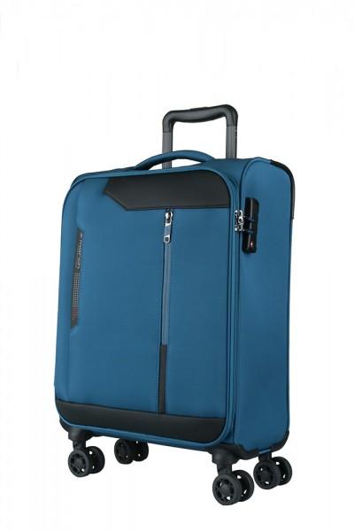 March Kabinový cestovní kufr Stardust 37 l – modrá