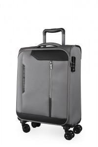 March Kabinový cestovní kufr Stardust 37 l – šedá