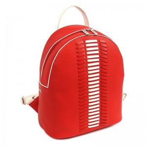 Dámský batoh Doca 14641 – červená