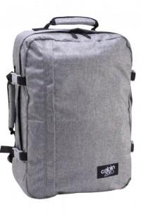 CabinZero Classic 44L Ice Grey ultra-light palubní batoh-taška 51x36x19 cm