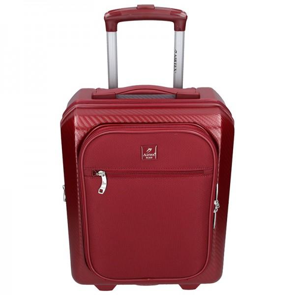 Cestovní kufr Airtex Paris Genym – vínová