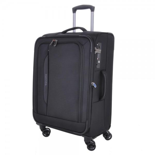 Travelite Cestovní kufr CrossLITE 4w M 89548-01 80 l