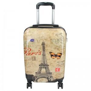 Palubní cestovní kufr Madisson Paris – béžová
