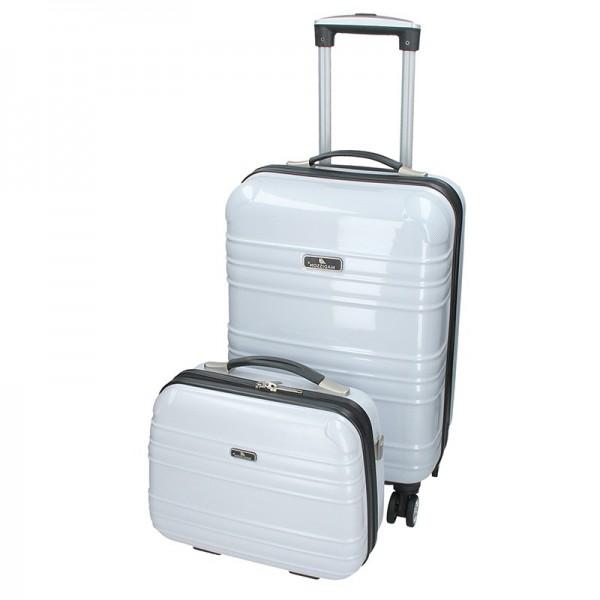 Sada dvou cestovních kufrů Madisson Elma – bílá