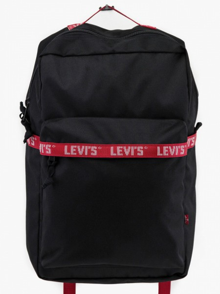 Batoh LEVI'S The L Pack Twill Tape Černá