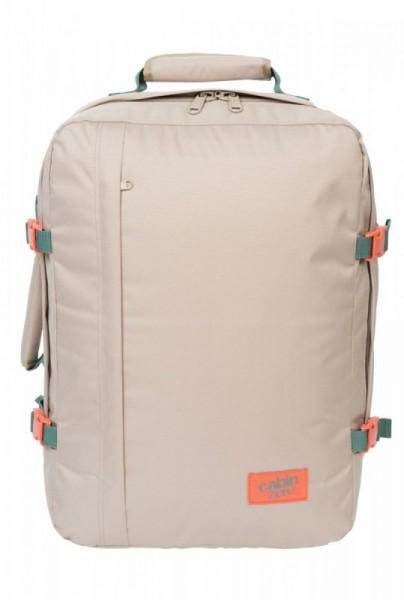CabinZero Classic 44L Sand Shell ultra-light palubní batoh-taška 51x36x19 cm
