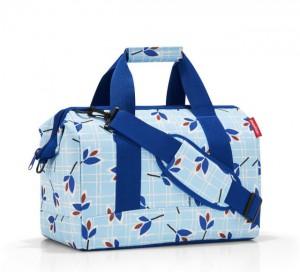 Cestovní taška Reisenthel Allrounder M Leaves blue