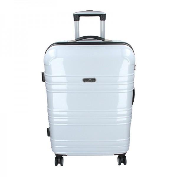 Cestovní kufr Madisson Monaco M – bílá