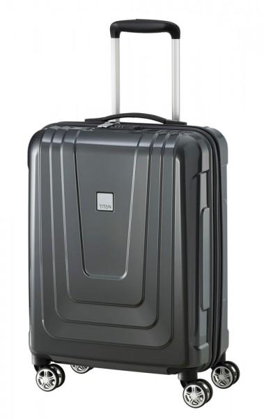 Titan Kabinový cestovní kufr X-ray 4w S Dark Stone 40 l