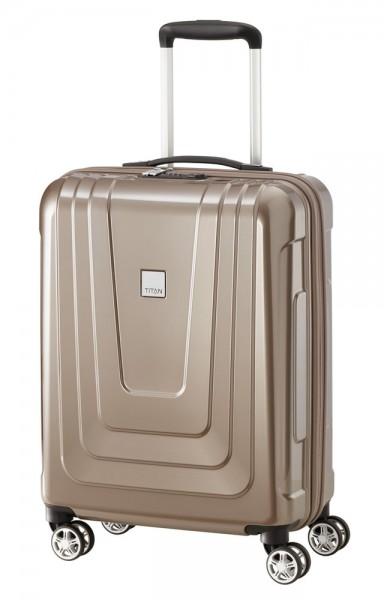 Titan Kabinový cestovní kufr X-ray 4w S Café Au Lait 40 l