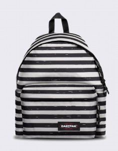 Batoh Eastpak Padded Pak'r Stripe-It Black