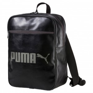 Unisex taška Puma Campus Backpack Black Puma Black