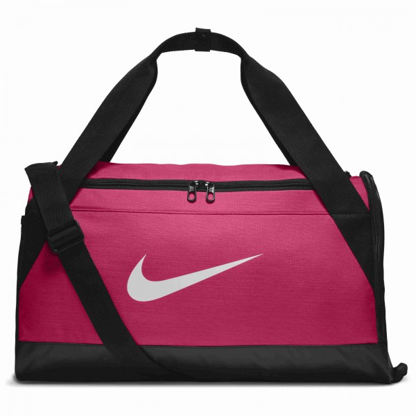 Unisex taška Nike NK BRSLA S DUFF RUSH PINK/BLACK/WHITE