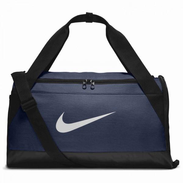Pánská taška Nike NK BRSLA S DUFF MIDNIGHT NAVY/BLACK/WHITE