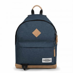 Unisex Batoh Eastpak AUTHENTIC INTO THE OUT WYOMING Into Navy Yarn