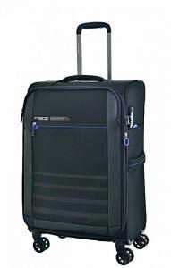 March Sigmatic M ultralehký cestovní kufr TSA 68 cm 70-83 l Black