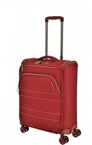March Marathon S extra lehký palubní kufr TSA 55 cm 38 l Red