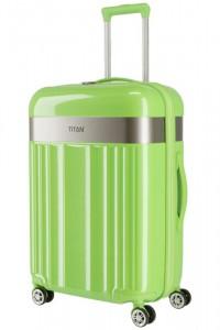 Titan Spotlight Flash 4w M cestovní kufr ABS/PC TSA 67 cm Flashy Kiwi