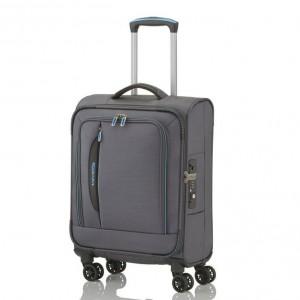 Travelite Kabinový cestovní kufr CrossLITE S 39 l – šedá