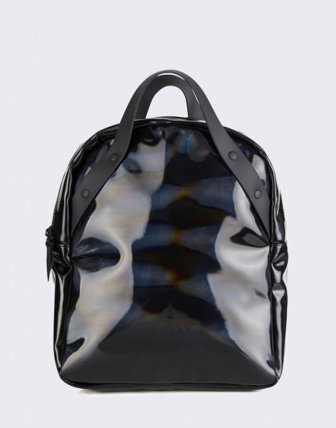 Batoh Rains Holographic Backpack Go 25 Holographic Black