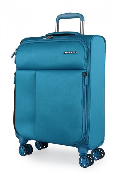 March Kabinový cestovní kufr Rally 37 l – modrá