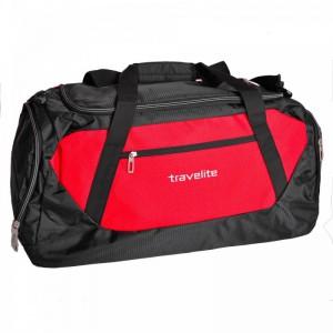 Travelite Kick Off L Red univerzální cestovní taška 71 l