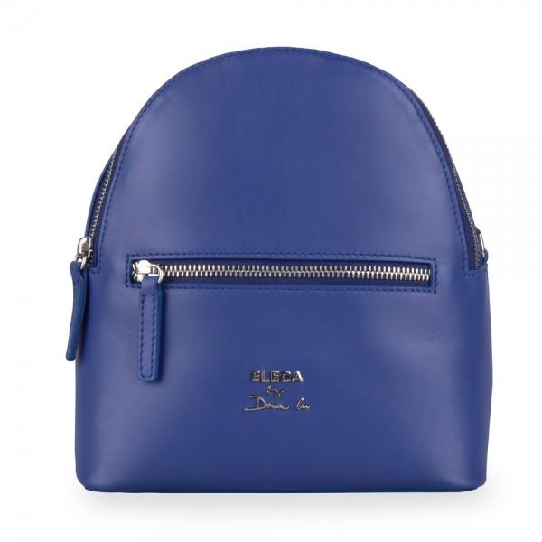 Elega by Dana M Dámský kožený batoh Bohemica 69420 – modrá