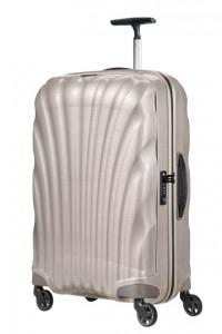 Samsonite Cestovní kufr Cosmolite Spinner V22 68 l – světle béžová