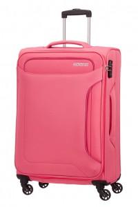 American Tourister Cestovní kufr Holiday Heat Spinner 50G 66 l – růžová