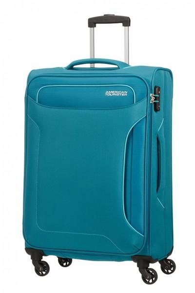 American Tourister Cestovní kufr Holiday Heat Spinner 50G 66 l – tyrkysová