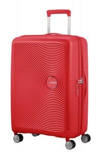 American Tourister Cestovní kufr Soundbox Spinner EXP 32G 71,5/81 l – červená